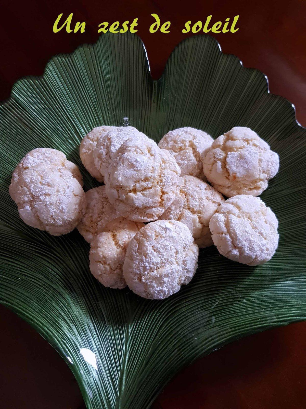 Biscuits craquelés aucitron