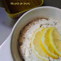 Tartinade de sardines avec  yaourt grec et piment d'Espelette
